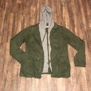 Jackets & Blazers - Army green jacket